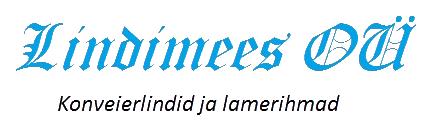 Lindimees OÜ | Konveierlindid ja lamerihmad Logo